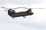 Pix: Shaun Flannery/shaunflanneryphotography.com...COPYRIGHT PICTURE>>SHAUN FLANNERY>01302-570814>>07778315553>>..2nd July 2011....................RAF Waddington International Airshow..RAF Chinook helicopter.