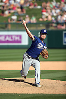 Matt West - Los Angeles Dodgers 2016 spring training (Bill Mitchell)