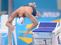 Olympia 2012 London   Aquatics Centre  28.07.2012 Dominik Meichtry (SUI) beim Vorlauf 400 Meter Freistil
