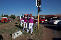 Soweto, South Africa: Izikhothane bling kids in Soweto. Photo by: Per-Anders Pettersson