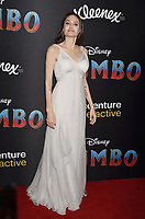 HOLLYWOOD, CA - MARCH 11: Angelina Jolie attends the premiere of Disney's 'Dumbo' at El Capitan Theatre on March 11, 2019 in Los Angeles, California.<br /> CAP/ROT/TM<br /> &copy;TM/ROT/Capital Pictures