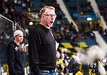 Stockholm 2014-11-16 Ishockey Hockeyallsvenskan AIK - IF Bj&ouml;rkl&ouml;ven :  <br /> AIK:s tr&auml;nare huvudtr&auml;nare Peter Nordstr&ouml;m reagerar under matchen mellan AIK och IF Bj&ouml;rkl&ouml;ven <br /> (Foto: Kenta J&ouml;nsson) Nyckelord:  AIK Gnaget Hockeyallsvenskan Allsvenskan Hovet Johanneshov Isstadion Bj&ouml;rkl&ouml;ven L&ouml;ven IFB portr&auml;tt portrait tr&auml;nare manager coach