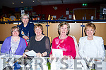 Friends from Tralee having a night at the dog at the Kingdom Greyhound stadium on Friday L-r Louise O'Connor Ita O'Connor, Mira McCarthy, Gena McCarthy, Bernadette Daly