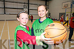 Eve Creedon and Mikayla Maunsell at Gael-Champa summer camp on Friday at Moyderwell gym, Tralee.
