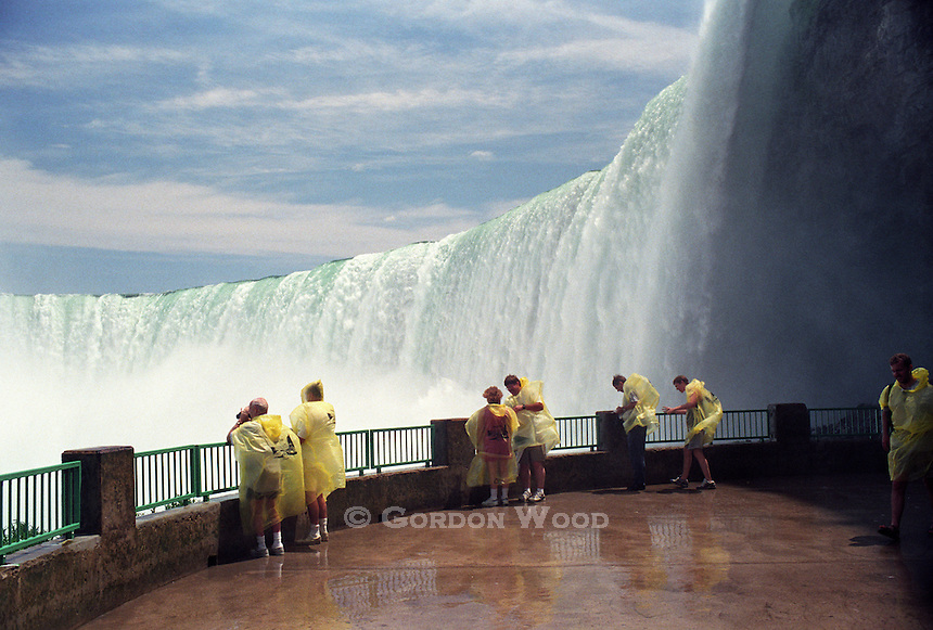 Under the Horseshoe Falls, Niagara Falls, Ontario, Canada