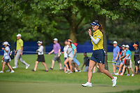 So Yeon Ryu (KOR) waves to the gallery as she steps on the green on 1 during round 4 of the 2018 KPMG Women's PGA Championship, Kemper Lakes Golf Club, at Kildeer, Illinois, USA. 7/1/2018.<br /> Picture: Golffile | Ken Murray<br /> <br /> All photo usage must carry mandatory copyright credit (&copy; Golffile | Ken Murray)