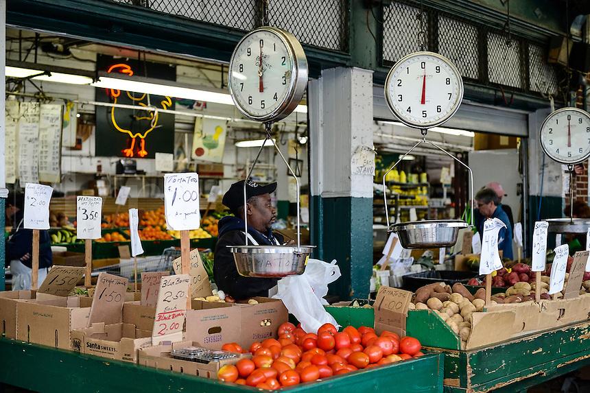 The Italian Market, Philadelphia, Pennsylvania, USA
