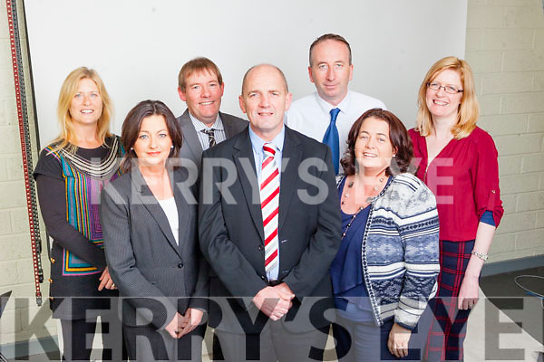 Kerry's Eye Advertising Staff, Eileen Curtin, Lisa Fitzgerald, Sean O'Keeffe, Brendan Kennelly, Brendan O'Sullivan, Tanya Allen and Catriona Cunningham.