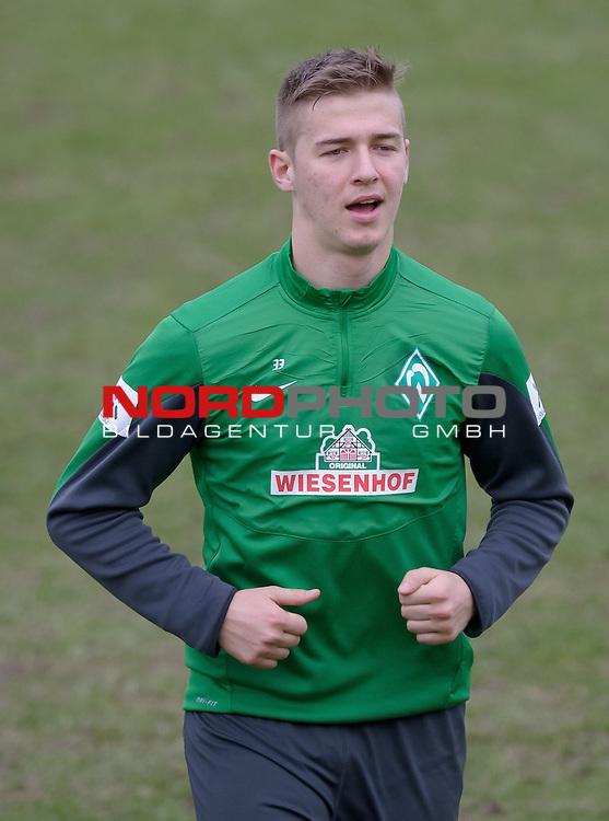 04.02.2014, Trainingsgelaende, Bremen, GER, 1.FBL, Training Werder Bremen, im Bild Martin Kobylanski (Bremen #33)<br /> <br /> Foto &copy; nordphoto / Frisch