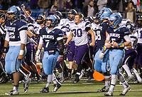 Arkansas Democrat-Gazette/MELISSA SUE GERRITS - 12/05/15 -  Fayetteville vs. Har-Ber during their 7A Championship game December 5, 2015 at War Memorial Stadium in Little Rock.