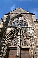 Europe/France/Champagne-Ardenne/51/Marne/Avenay Val d'Or: Détail portail XV de l'église Saint Tresain