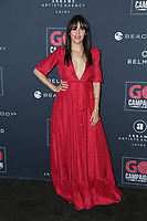 17 November 2019 - Los Angeles, California - Olga Segura. Go Campaign's 13th Annual Go Gala held at NeueHouse Hollywood. Photo Credit: PMA/AdMedia