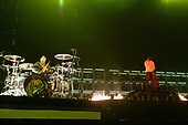 MIAMI, FL - JUNE 15: Josh Dun and Tyler Joseph of Twenty One Pilots perform at the AmericanAirlines Arena on June 15, 2019 in Miami Florida. Credit Larry Marano © 2019