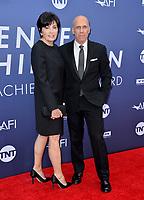 LOS ANGELES, USA. June 07, 2019: Jeffrey Katzenberg & Marilyn Katzenberg at the AFI Life Achievement Award Gala.<br /> Picture: Paul Smith/Featureflash