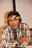 Washington DC, USA. Chico Vive conference, 5th April 2014. Speaker Franco Viteri.