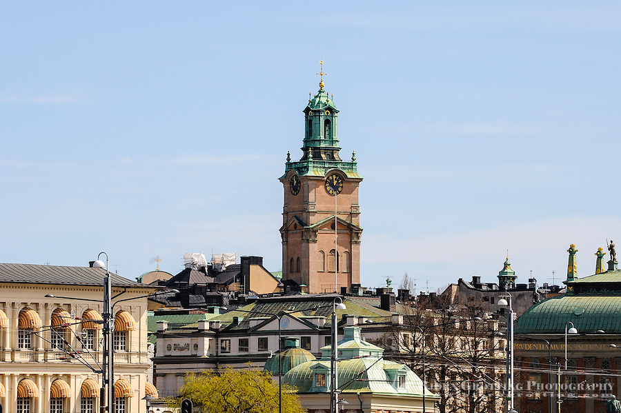 Sweden, Stockholm. Storkyrkan, the oldest church in Gamla Stan.