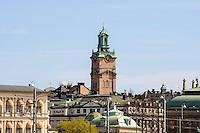 Sweden, Stockholm. Storkyrkan, the oldest church in Gamla Stan.