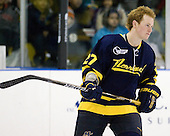 Rhett Bly (Merrimack - 27) - The Merrimack College Warriors defeated the visiting Sweden Under 20 team 4-1 on Tuesday, November 2, 2010, at Lawler Arena in North Andover, Massachusetts.