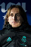 Luka Modric of Real Madrid looks on prior to the Copa del Rey 2017-18 match between CD Leganes and Real Madrid at Estadio Municipal Butarque on 18 January 2018 in Leganes, Spain. Photo by Diego Gonzalez / Power Sport Images