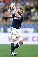 Rayan Wilson Scozia.<br /> Roma 22-02-2014, Stadio Olimpico. Sei Nazioni di Rugby / Rugby Six Nations - Italia vs Scozia - Foto Antonietta Baldassarre / Insidefoto