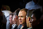 Current Champion Christopher Froome (GBR) at the Tour de France 2018 route presentation held at Palais de Congress, Paris, France. 17th October 2017.<br /> Picture: ASO/Bruno Bade | Cyclefile<br /> <br /> <br /> All photos usage must carry mandatory copyright credit (&copy; Cyclefile | ASO/Bruno Bade)