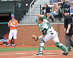 Tulane downs Sam Houston State, 3-2, on a pinch hit three run homer in the bottom of the eighth inning.
