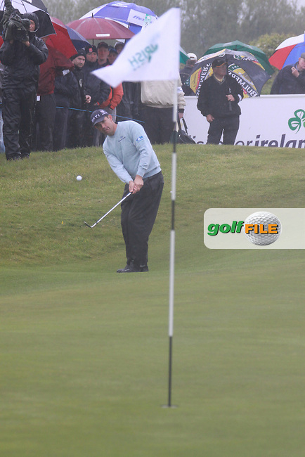 Day one from the 3 Irish open in Co Louth Golf Club..Photo: Fran Caffrey/www.golffile.ie..