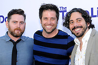 WESTWOOD, CA - JULY 23: Scott Davidson, Kevin M. Brennan and Zachary Ross attend the premiere of CBS Films' 'The To Do List' at the Regency Bruin Theatre on July 23, 2013 in Westwood, California. (Photo by Celebrity Monitor)