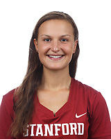 Stanford, CA - September 20, 2019: Chelsea Trattner, Athlete and Staff Headshots