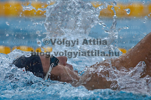 Aaron Piersol (USA) competes during the 200 m Men's Backstroke Swimming competition during the 13th FINA Swimming World Championships held in Rome, Italy. Thursday, 30. July 2009. ATTILA VOLGYI