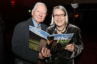 "NO REPRO FEE. 17/1/2010. The Field opening night. Gay Byrne and Darina Allen are pictured at the Olympia Theatre for the opening night of John B Keanes 'The Field"" Picture James Horan/Collins"