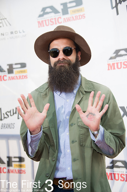 Jason Butler attends the 2014 AP Music Awards at the Rock And Roll Hall Of Fame and Museum at North Coast Harbor in Cleveland, Ohio.