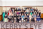 The Killarney Presentation class 0f 1989 who held a class reunion in the Brehon Hotel on Saturday night