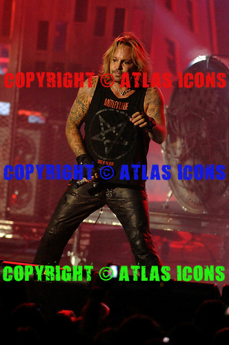 Motley Crue; Vince Neil; .Photo Credit: Eddie Malluk/Atlas Icons.com