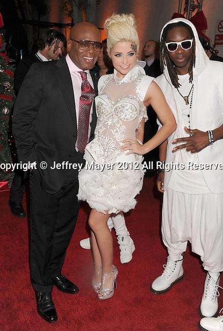 "LOS ANGELES, CA - DECEMBER 20: Antonio ""L.A."" Reid and CeCe Frey attend the FOX's 'The X Factor' Season Finale - Night 2 at CBS Televison City on December 20, 2012 in Los Angeles, California."