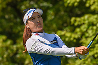 So Yeon Ryu (KOR) watches her tee shot on 8 during round 2 of the 2018 KPMG Women's PGA Championship, Kemper Lakes Golf Club, at Kildeer, Illinois, USA. 6/29/2018.<br /> Picture: Golffile | Ken Murray<br /> <br /> All photo usage must carry mandatory copyright credit (&copy; Golffile | Ken Murray)
