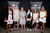 Junior Sportswoman of the Year finalists. Counties Manukau Sport Sporting Excellence Awards held at Testra Clear Pacific Events Centre, Manukau, on Thursday 9th December 2010.