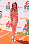 LOS ANGELES, CA- JULY 17: Actress Keely Marshall attends Nickelodeon Kids' Choice Sports Awards 2014 at Pauley Pavilion on July 17, 2014 in Los Angeles, California.