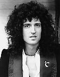 Queen 1975 Brian May..© Chris Walter..