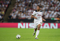Mousa Dembele of Tottenham Hotspur during the UEFA Champions League Group stage match between Tottenham Hotspur and Monaco at White Hart Lane, London, England on 14 September 2016. Photo by Andy Rowland.