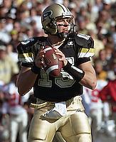 Purdue quarterback Drew Brees, October 28, 2000.