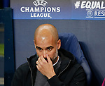 Josep Guardiola manager of Manchester City during the Champions League Group F match at the Emirates Stadium, Manchester. Picture date: September 26th 2017. Picture credit should read: Andrew Yates/Sportimage