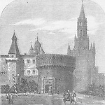 RUSSIA Gate of Trinity, Moscow 1856. Illustrated Times. Image shot 1856. Exact date unknown.