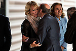 Esperanza Aguirre and Alfredo Perez Rubalcaba attends to the act of imposition of the great cross of the civil order of Alfonso X el Sabio to D. Francisco Luzon Lopez at Reina Sofia Museum in Madrid. March 13, 2017. (ALTERPHOTOS/Borja B.Hojas)