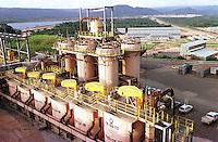 Cia. Vale do Rio Doce, Serra Sossego.<br />Canãa dos Carajás-Pará-Brasil<br />Foto: Paulo Santos/ Interfoto<br />Negativo 135 Nº 8501 T6  F18a