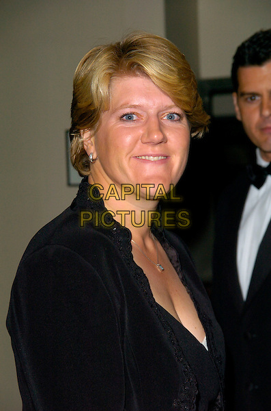 CLAIRE BALDING.At the Wimbledon Champions Dinner, The Savoy Hotel, London, England, July 8th 2007. .tennis portrait headshot clare.CAP/CAN.©Can Nguyen/Capital Pictures