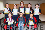 Young Writers<br /> -------------------<br /> Pupils from Abbeydorney National School who received their medals and certs last Monday evening in the Tralee Education Centre,North Campus,Tralee IT, after their books were chosen in the Irish book writing competition for primary schools in the county,the Gradam Awards were (front) L-R Aoife Ni Bheochain, Louie &amp; Libbi O Dulaing, (back( L-R Ethan O Dualaing,Grain Ni Phaireir,Liadh Ni Bhreannain,Shauna Nic Ghearailt agus Sean O Hannain