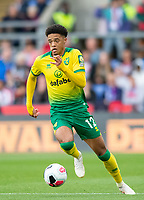 Norwich City Jamal Lewis during the Premier League match between Crystal Palace and Norwich City at Selhurst Park, London, England on 28 September 2019. Photo by Andrew Aleksiejczuk / PRiME Media Images.