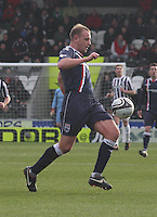 Grant Munro in the St Mirren v Ross County Clydesdale Bank Scottish Premier League match played at St Mirren Park, Paisley on 19.1.13.