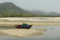 SIERRA LEONE, Freetown, beach river No. 2 and protected forest